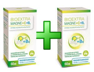 Magne+C+B6 1+1 akció